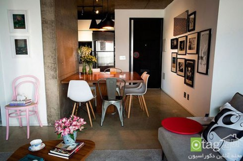 دکوراسیون کاربردی یک آپارتمان 70 متری - عکس شماره 10