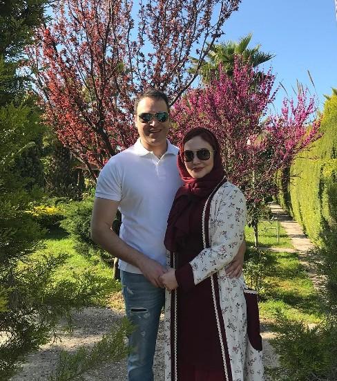 عکس جدید آرام جعفری و همسرش