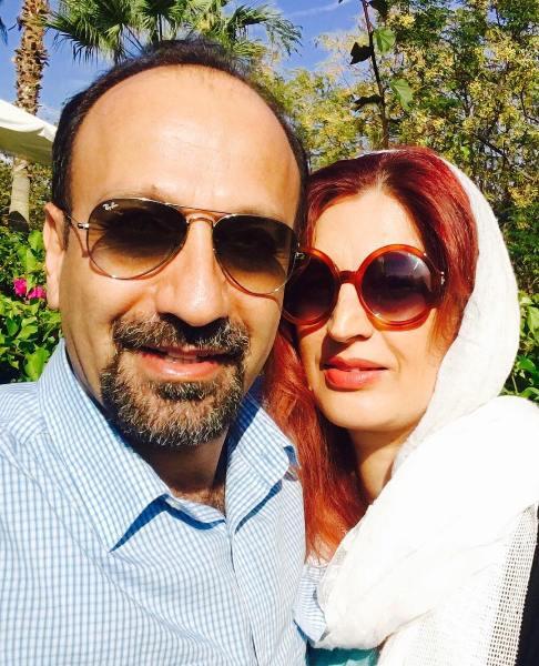 عکس اصغر فرهادی و همسرش در آنتالیا