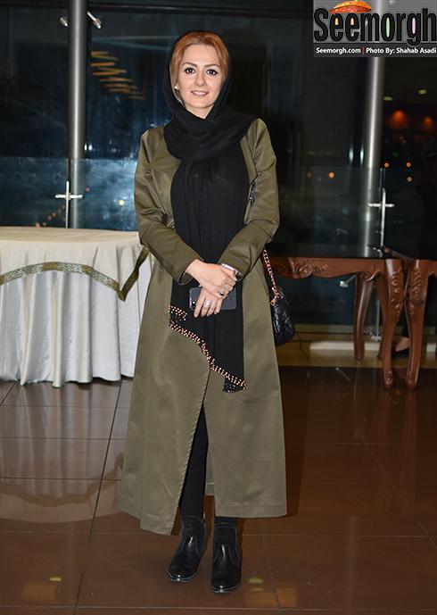 بیتا سحرخیز در اکران فیلم سلام بمبئی