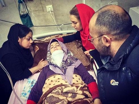 سقوط بازیگر زن کشورمان از روی اسب و آسیب دیدگی شدید وی! عکس