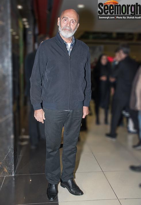 جمشید هاشم پور در اکران فیلم نفس در پردیس کوروش