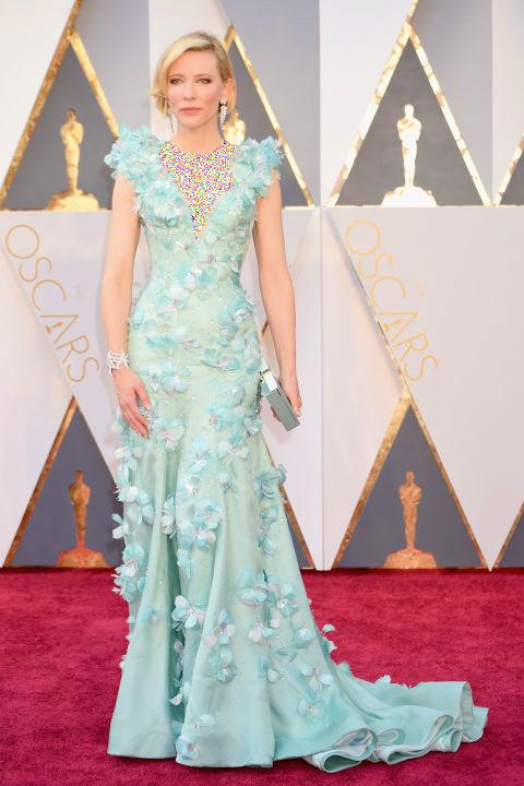 مدل لباس کیت بلانشت Cate Blanchett  از برند آرمانی Armani