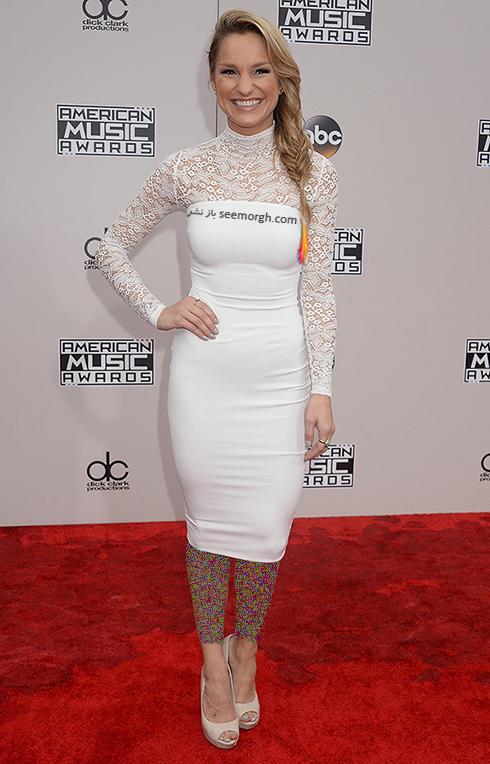 مدل لباس چلسی بریگز chelsea briggs در American Music Awards 2016