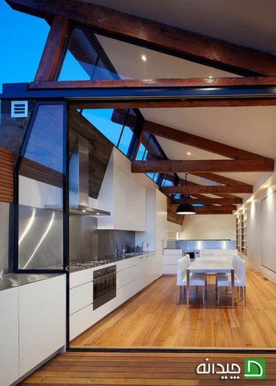 استفاده از عناصر صنعتی در طراحی آشپزخانه