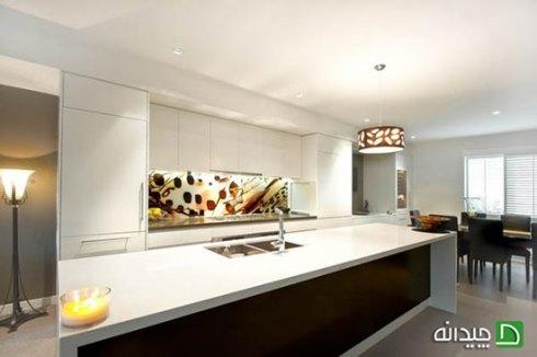 دیوارپوش منحصر به فرد در دکوراسیون آشپزخانه