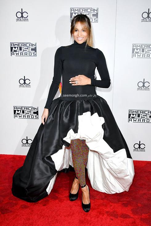 مدل لباس سیارا Ciara در American Music Awards 2016