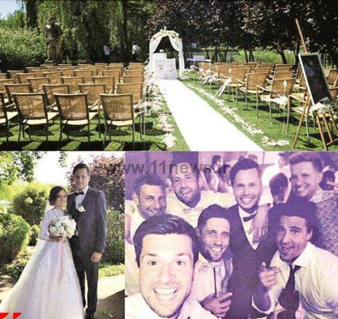مراسم ازدواج دانیال داوری