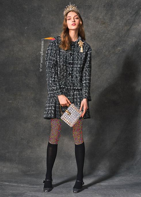 کت و دامن دولچه اند گابانا Dolce & Gabbana برای پاییز 2016 - عکس شماره  7