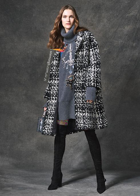 پالتو دولچه اند گابانا Dolce & Gabbana برای پاییز 2016 - عکس شماره 8