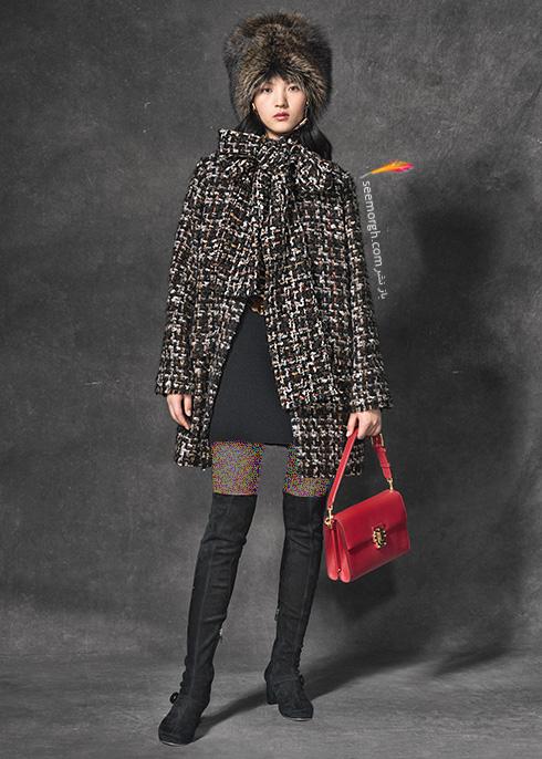 پالتو دولچه اند گابانا Dolce & Gabbana برای پاییز 2016 - عکس شماره 9