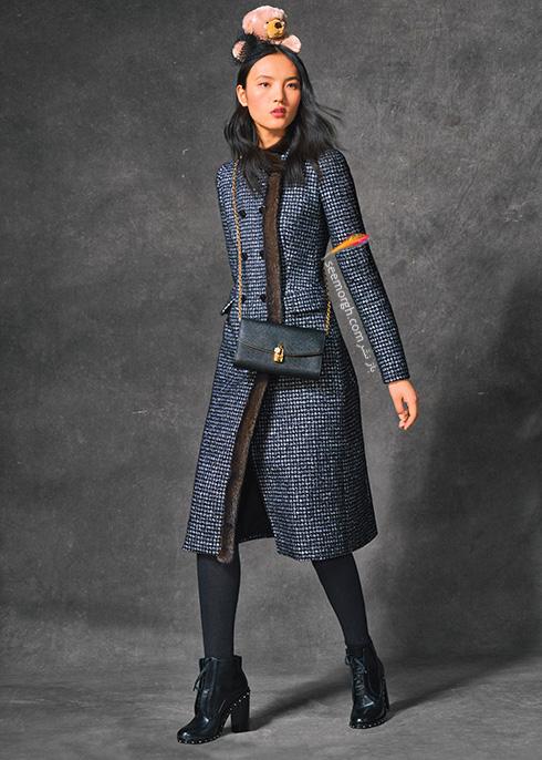 پالتو دولچه اند گابانا Dolce & Gabbana برای پاییز 2016 - عکس شماره 10