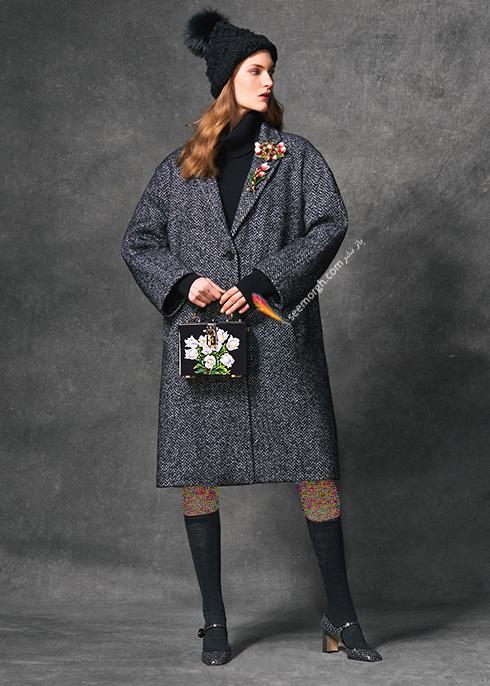 پالتو زنانه دولچه اند گابانا Dolce & Gabbana برای پاییز 2016 - عکس شماره  5