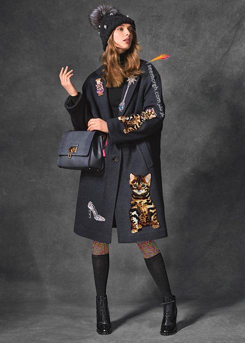 پالتو زنانه دولچه اند گابانا Dolce & Gabbana برای پاییز 2016 - عکس شماره  3