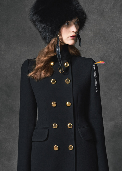 پالتو زنانه دولچه اند گابانا Dolce & Gabbana برای پاییز 2016 - عکس شماره 1