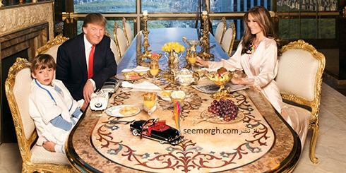 دکوراسیون داخلی پنت هاوس دونالد ترامپ Donald John Trump - عکس شماره 18