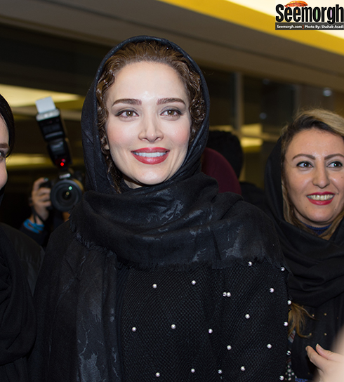 بهنوش طباطبایی در افتتاحیه جشنواره فجر