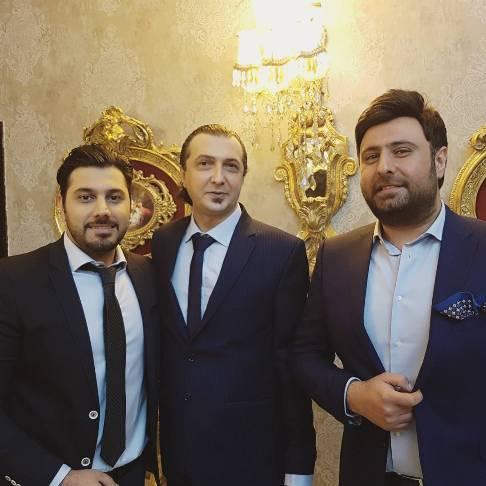 احسان خواجه امیری در جشن عروسی مهرداد نصرتی