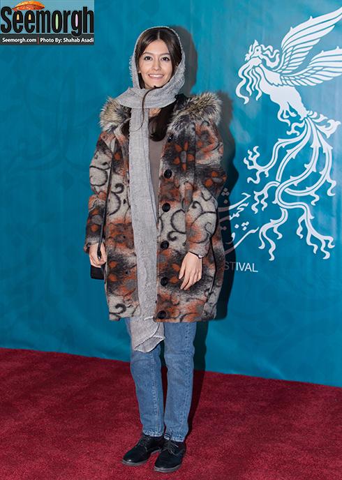 مدل مانتو پردیس احمدیه در چهارمین روز جشنواره فجر 35