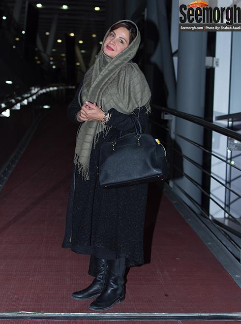 مدل مانتو سیما تیرانداز در نهمین روز جشنواره 35