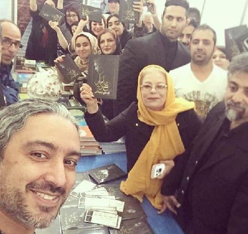 جشن امضای کتاب مازیار فلاحی