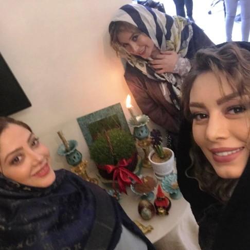 سحر قریشی در کنار مریم سلطانی و فریبا نادری