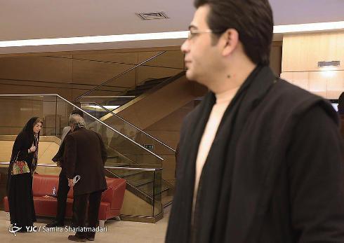 فرزاد حسنی و آزاده نامداری در جشنواره فیلم فجر