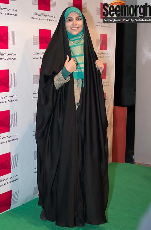 مژده لواسانی در اکران فیلم گیتا در پردیس ملت