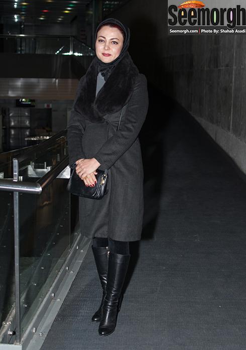 یلدا قشقایی در اکران فیلم گیتا