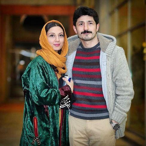 حدیث میرامینی و همسرش در جشنواره فیلم فجر