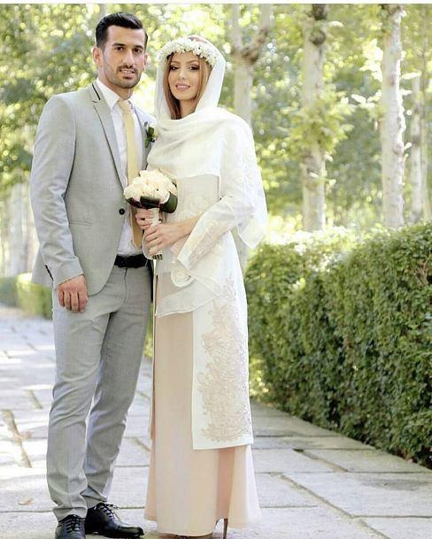 عکس جدید احسان حاج صفی و همسرش