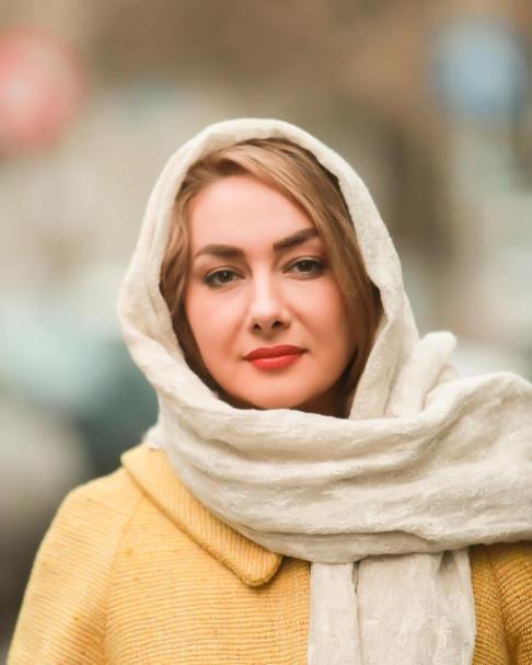 رنگ موی هانیه توسلی در روز های اول جشنواره فیلم فجر
