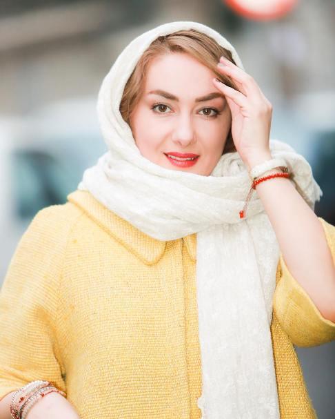 چهره هانیه توسلی در روز های اول جشنواره فیلم فجر