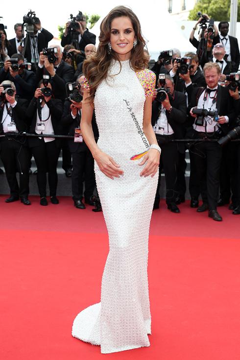 مدل لباس ایزابل گولارت Izabel Goulart در ششمین روز جشنواره کن 2017 Cannes