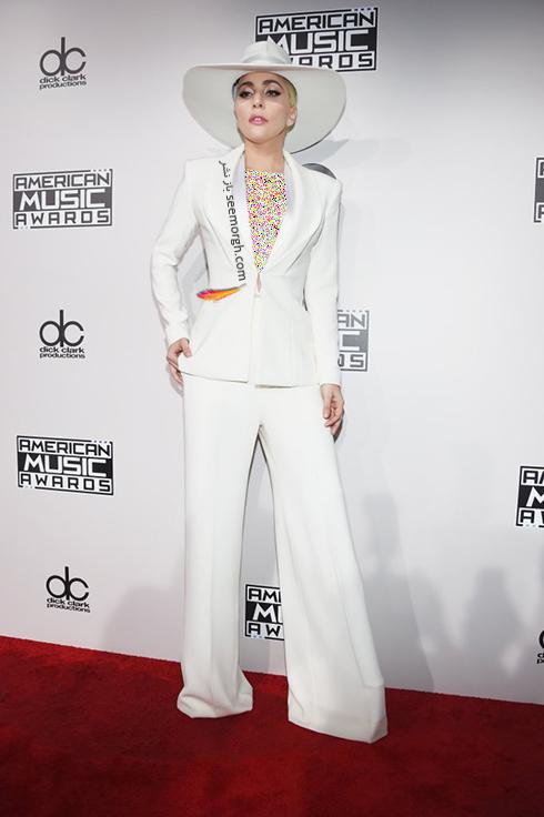 مدل لباس لیدی گاگا Lady Gaga در American Music Awards 2016
