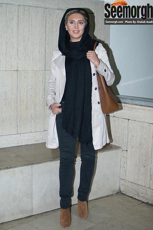 لیلا بلوکات در اکران فیلم آس و پاس