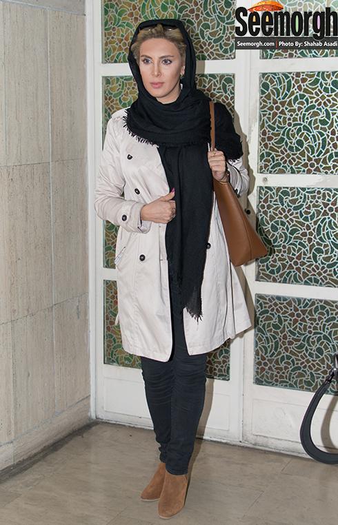 ظاهر جدید لیلا بلوکات در اکران فیلم آس و پاس