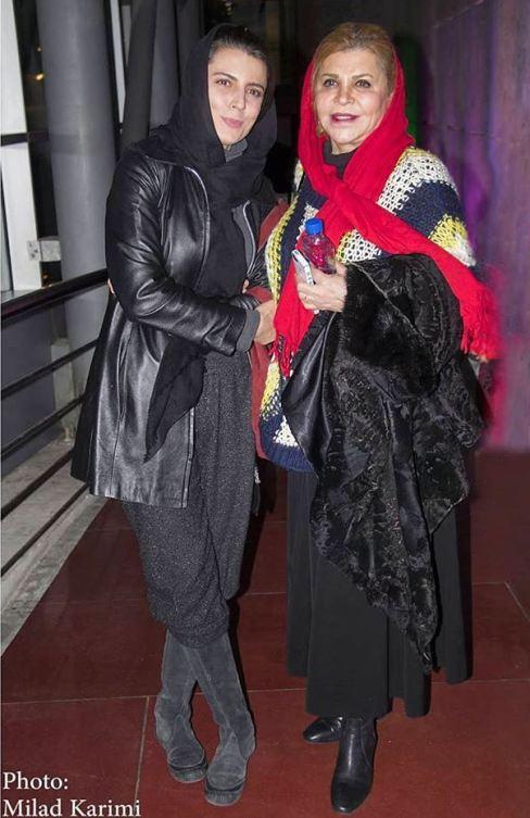 لیلا حاتمی و مادرش در جشنواره فیلم فجر