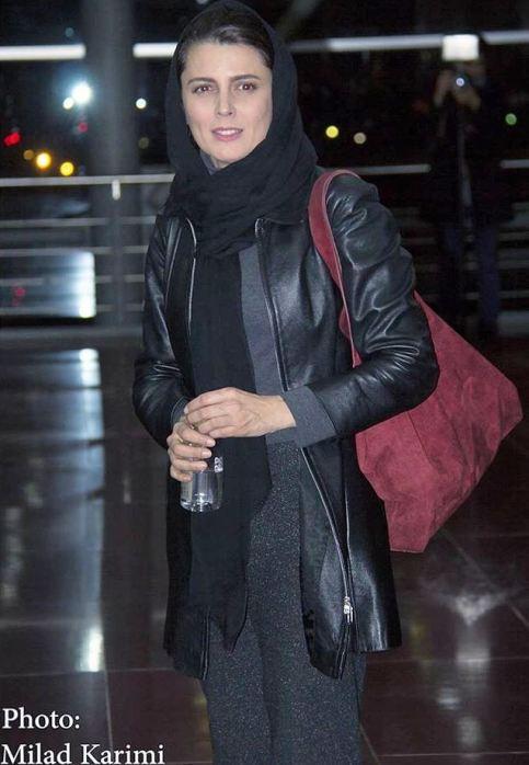 ظاهر لیلا حاتمی در حاشیه جشنواره فیلم فجر
