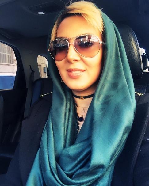 عکس لیلا بلوکات اتومبیل شخصی اش