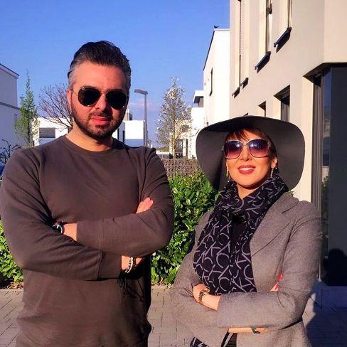 لیلا بلوکات در کنار محمد یوسفی