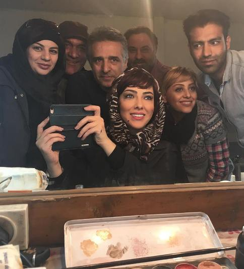 گریم لیلا اوتادی در فیلم آزادی به قيدشرط 2