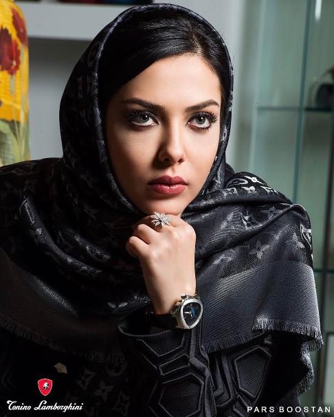 لیلا اوتادی مدل برند لامبورگینی