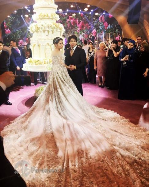 مراسم عروسی گرانقیمت