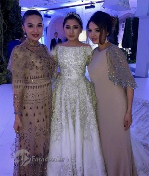 لباس گرانقیمت عروس
