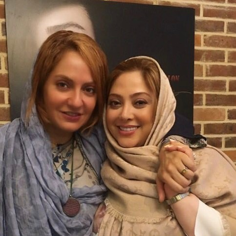 عکس یادگاری مریم سلطانی با مهناز افشار