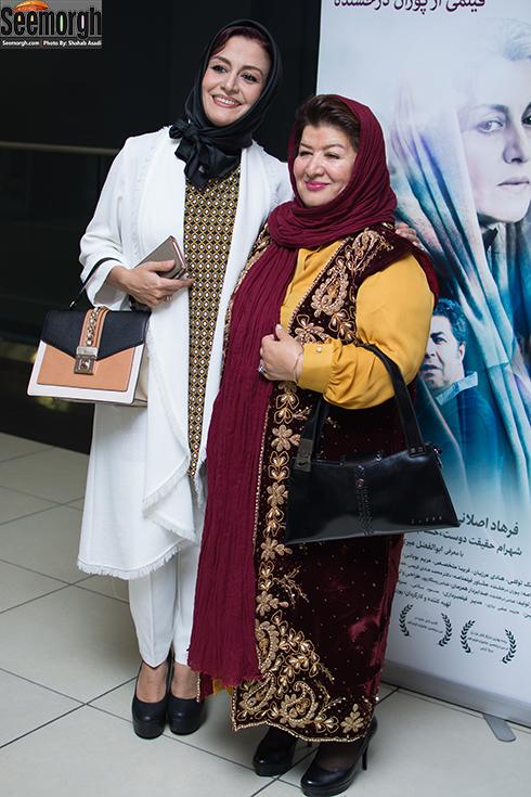 مدل مانتو مریلا زارعی و پوران درخشنده در تیر 1396