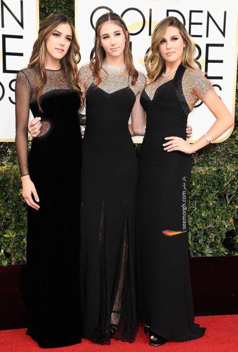 دختران سیلوستر استالونه در گلدن گلوب 2017