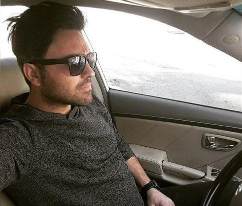 محمدرضا امامی بازیگر و مدل ایرانی