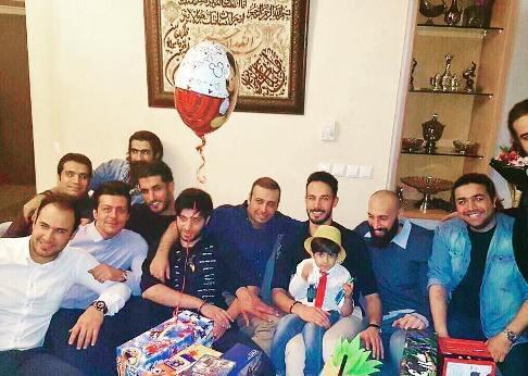 جشن تولد زانکو پسر محسن چاوشی
